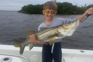 Robalo fishing in famous Bull Bay Fl