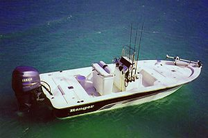 Boca Grande charter boat fishing in the pass near the flats